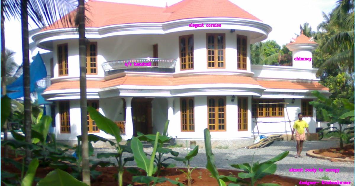 kerala villa plan and elevation kerala home design and floor plans. Black Bedroom Furniture Sets. Home Design Ideas