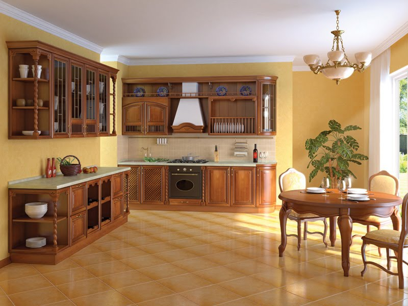 Kitchen cabinet designs 13 photos kerala home design for Kitchen island cabinet plans