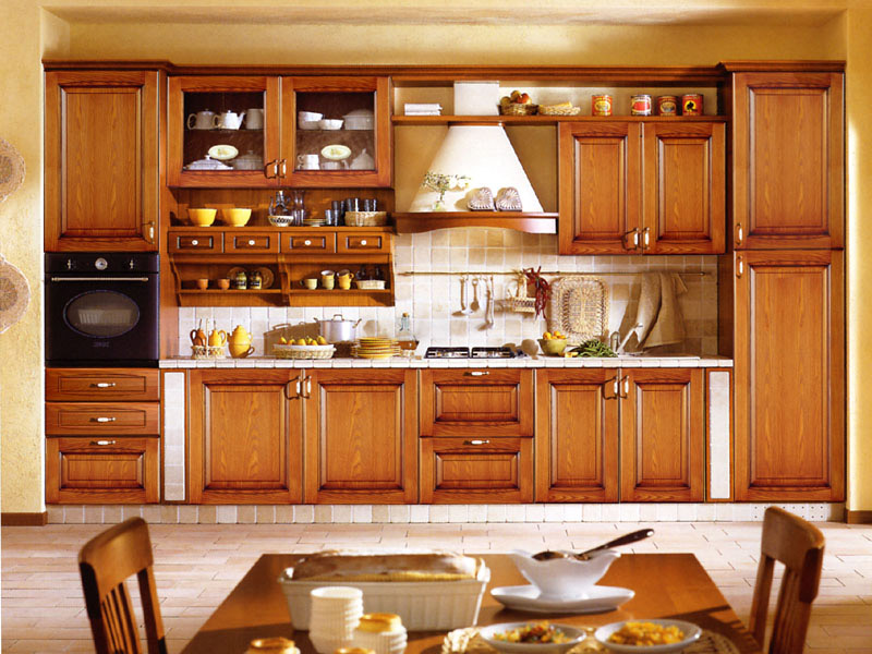 Kitchen cabinet designs 13 photos kerala home design for Small kitchen cupboard designs