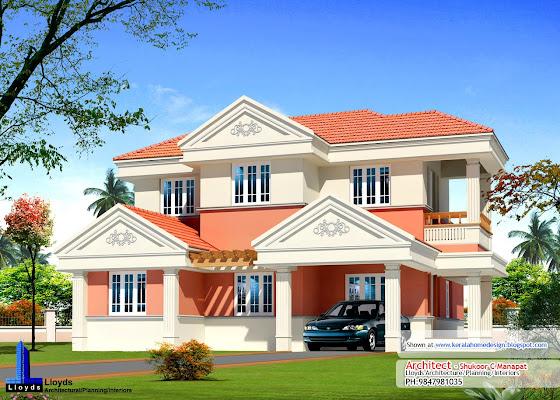 Elevation Plan Ymca : Kerala home plan elevation and floor sq ft