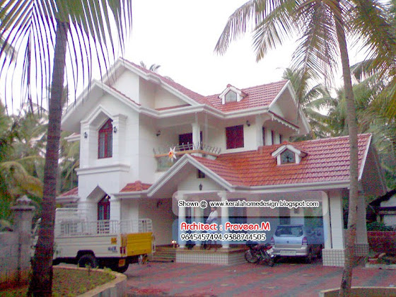 Kerala Home Elevation
