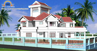 luxury home plans Kerala