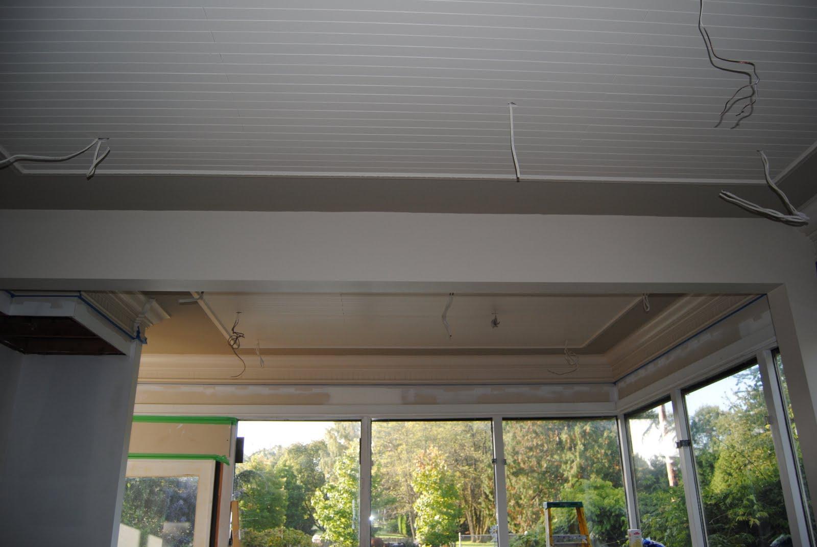 Kathleen Jackson Kitchen Ceiling Update