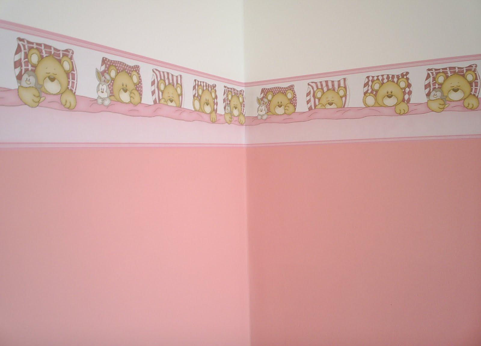 Papel de parede para quarto infantil feminino for Papel pared infantil