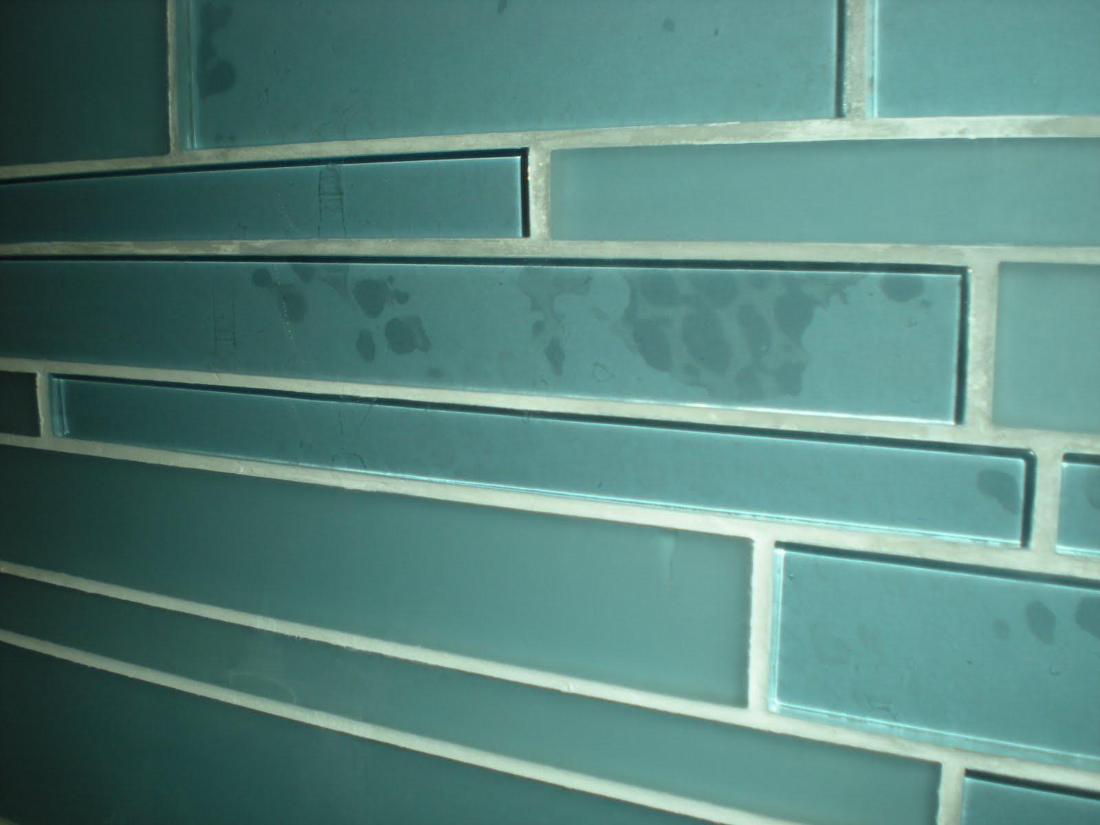FJ Smith Contracting Corp.: Glass Tiled Bathroom