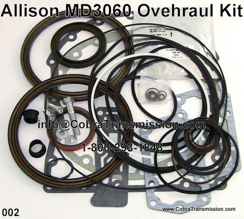 Allison md3060 Repair manual