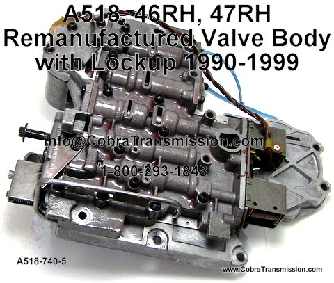 dodge transmission parts - 518 / 46re 47re automatic diagram exploded view  sk� axod-e axod-e, ax4s 1991-up taurus, sable, lincoln with boost valve air
