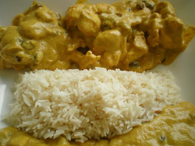 Pollo al curry en thermomix for Como cocinar pollo al curry
