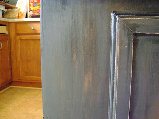 Distressed Black Cabinets Part 2 Infarrantly Creative