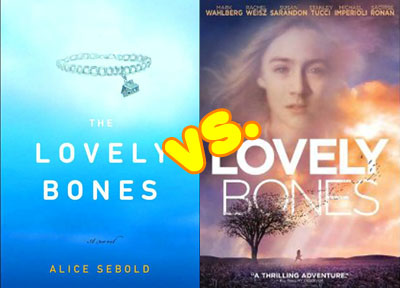 book vs movie the lovely bones wag the fox book vs movie the lovely bones