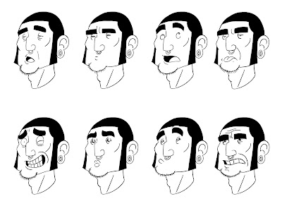 Consensual Tentacle: Expression Sheet August
