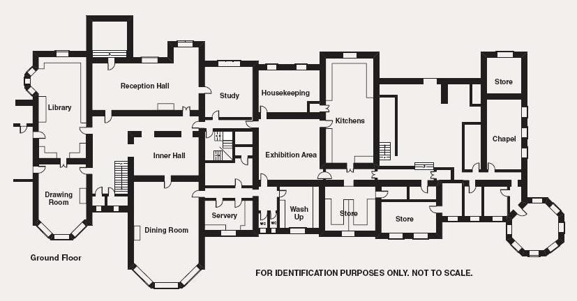 Except the kyles and western isles duncraig castle for Castle floor plan generator