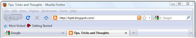 Customize the Firefox Toolbar - Tips, Tricks and Tools