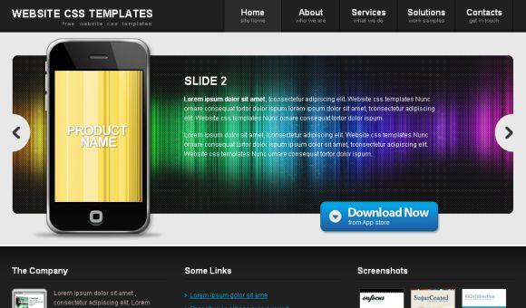 Free Portfolio Web Design CSS Template