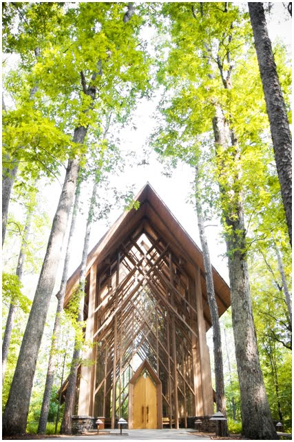 The Anthony Chapel At Garvan Gardens In Hot Springs Arkansas