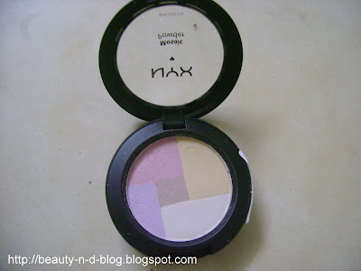 NYX Mosaic Powder Highlighter review