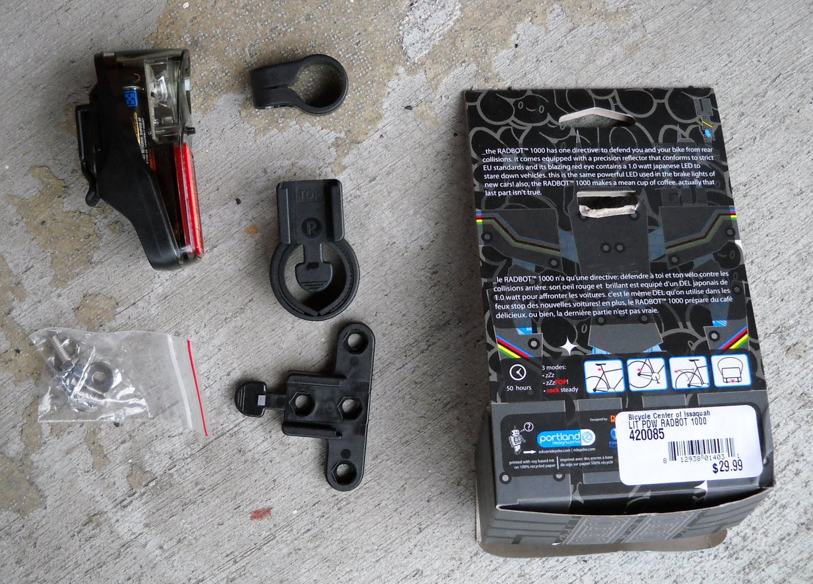 Kents Bike Blog Portland Design Works Radbot 1000 A Review