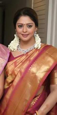 nagma in saree pinkக்கான பட முடிவுகள்