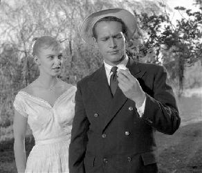 with Joanne Woodward in Long Hot Summer