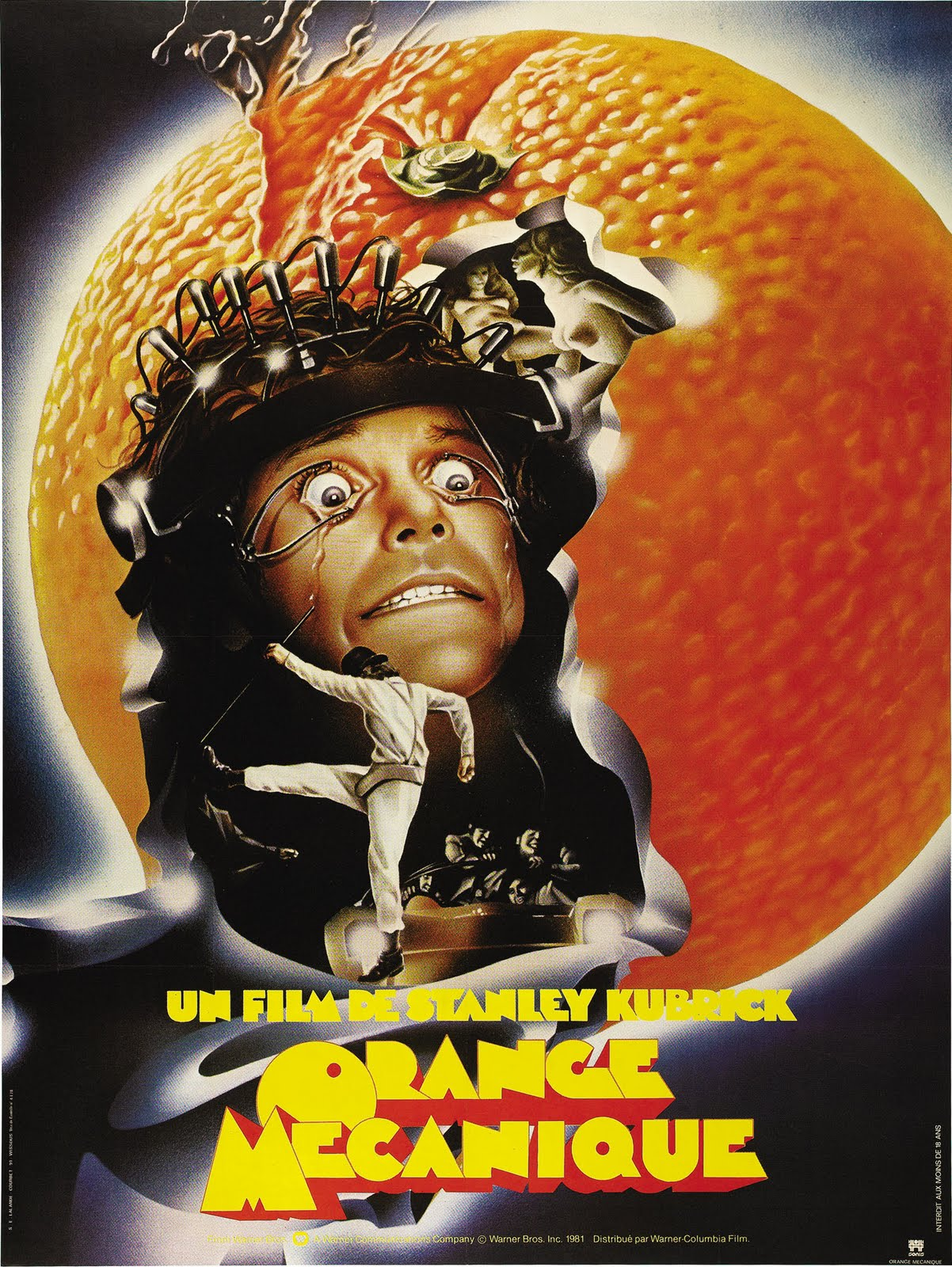 Dvd Orange Clockwork Cover