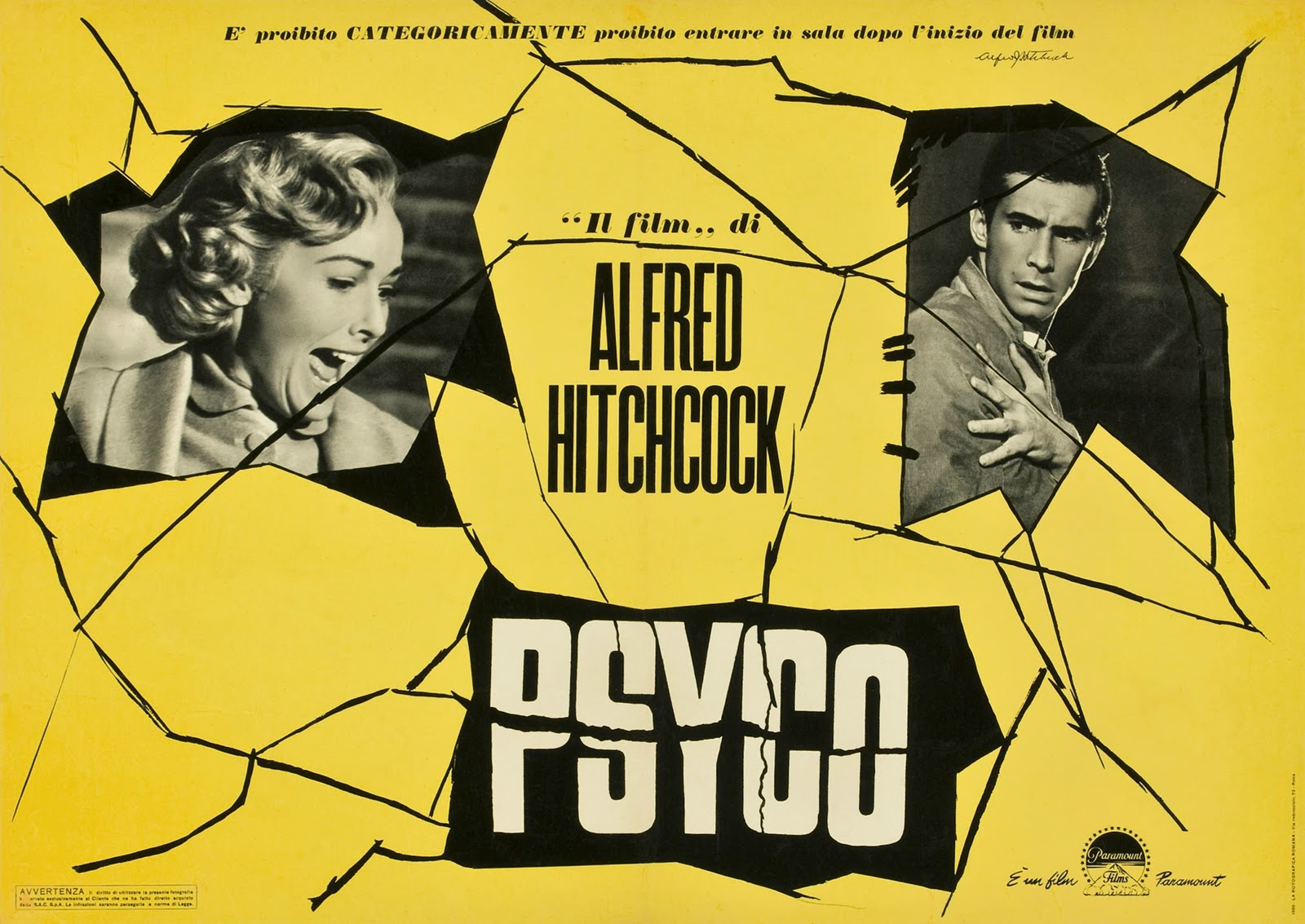 MOVIE POSTERS: PSYCHO (1960)