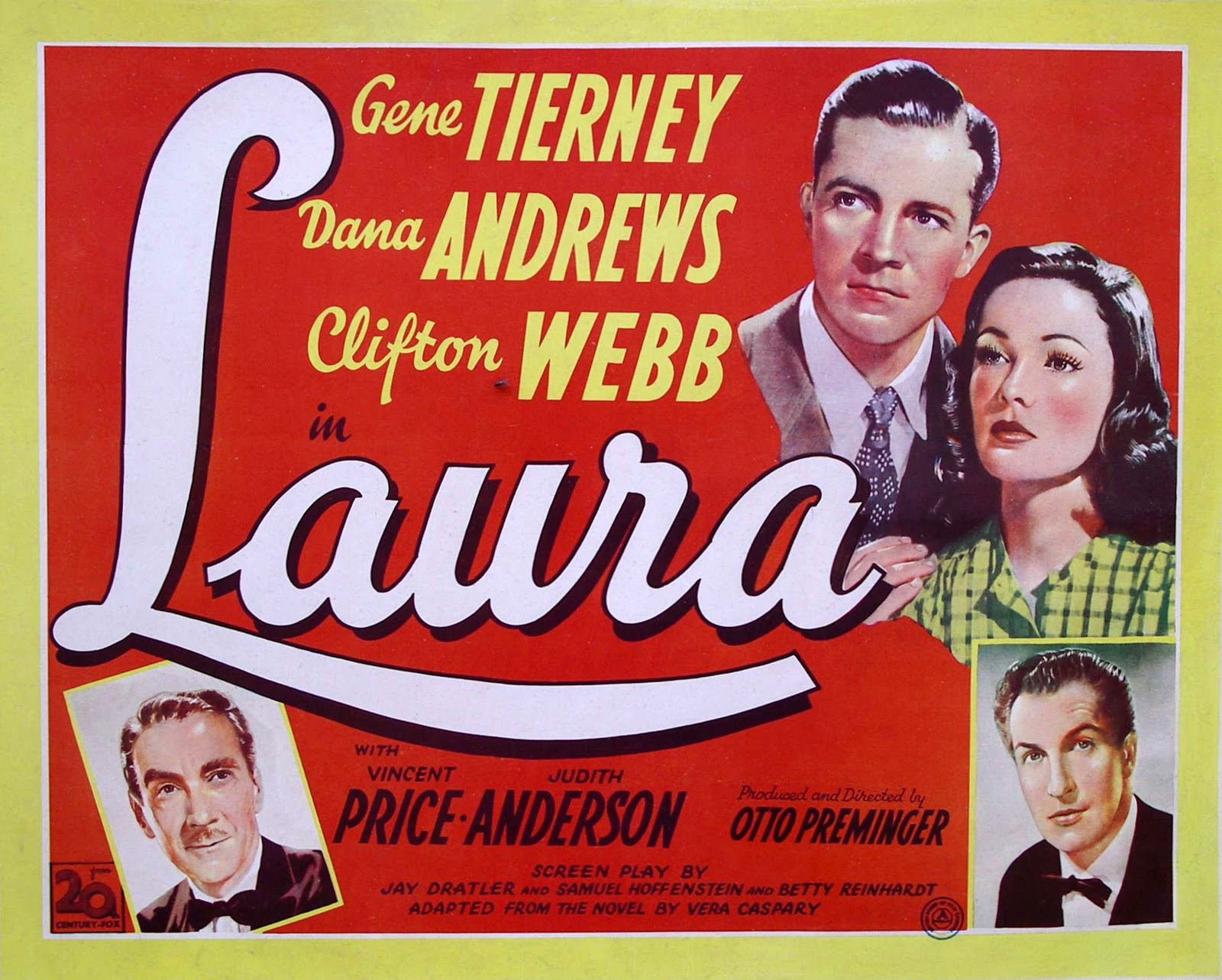 Movie Posters Laura 1944