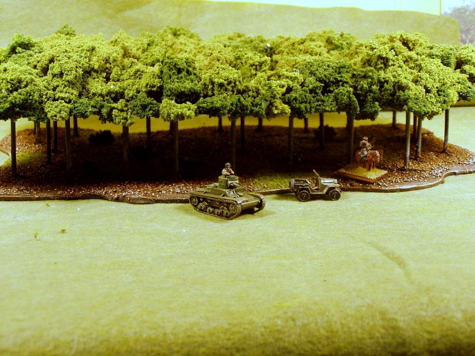 The Forgotten Legions Forest Templates For Wargaming