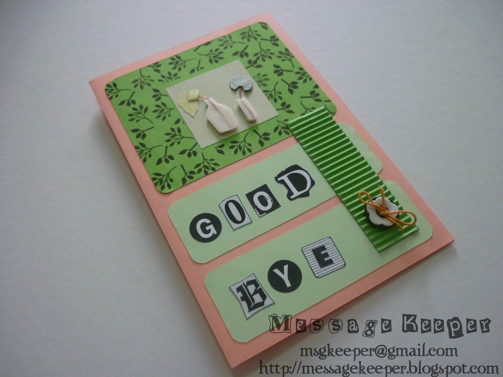 message keeper farewell card 4