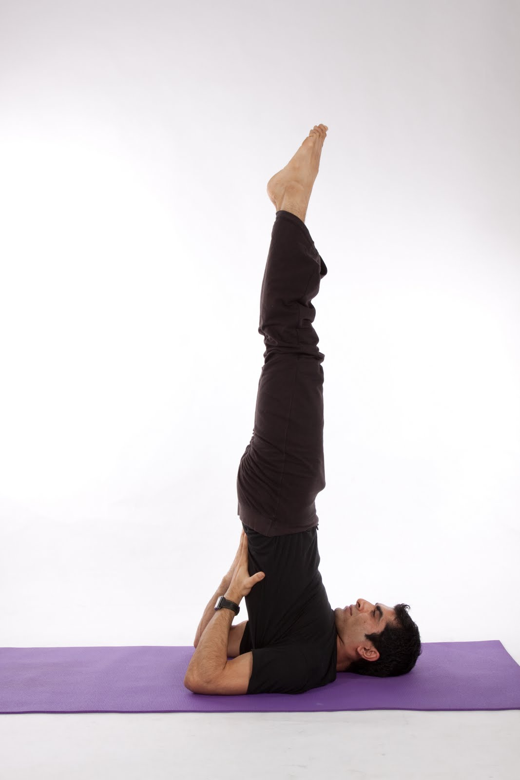 Shoulder Stand For Prolapse