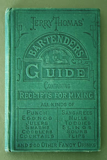 Vintage Cocktail Books: Jerry Thomas BARTENDERS GUIDE 1887