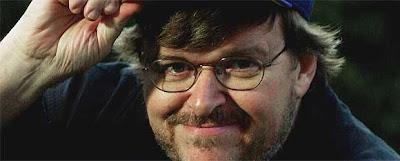 caratula documental Michael Moore: El gran agitador (Reportaje)