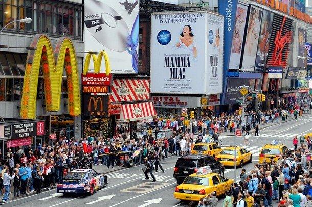 Meridianos parada en boxes en el centro de nueva york for B b new york centro