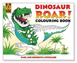 Dinosaur Roar! Coloring Book!
