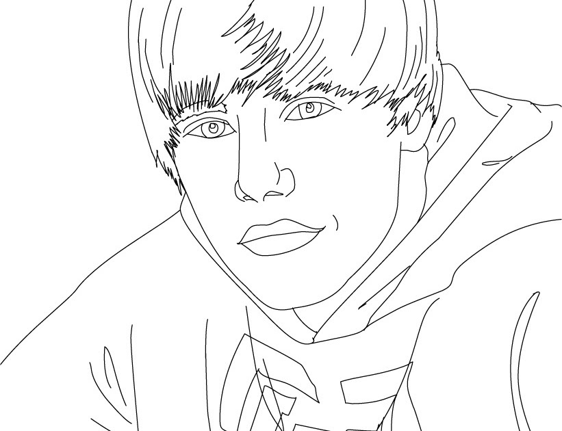 Coloring pages of justin bieber coloring artist for Justin bieber coloring pages