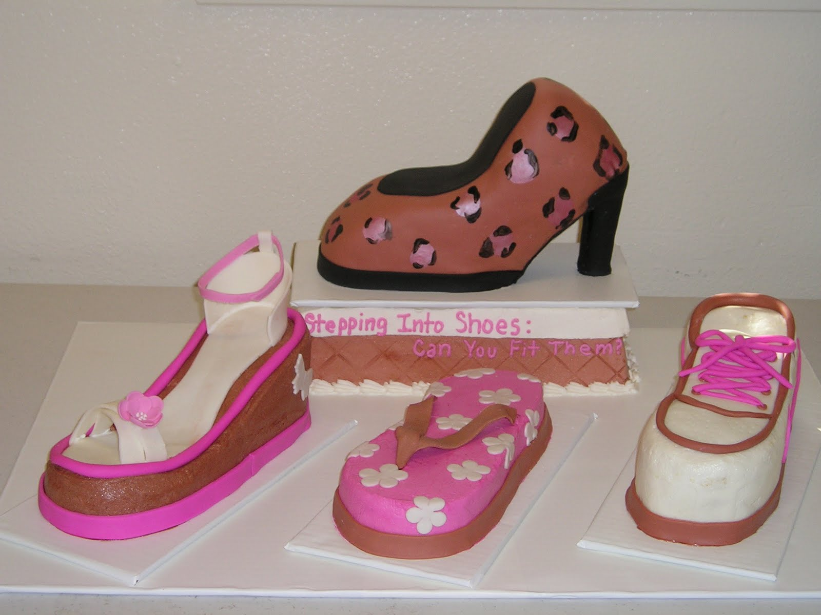 Dee Licious Cakes Shoe Cakes