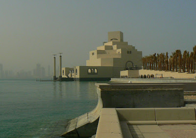 The Museum of the Islamic Arts on Doha's Corniche