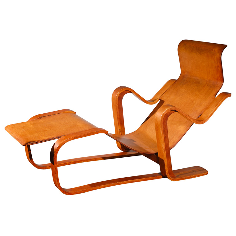 Art artists marcel breuer for Chaise wassily
