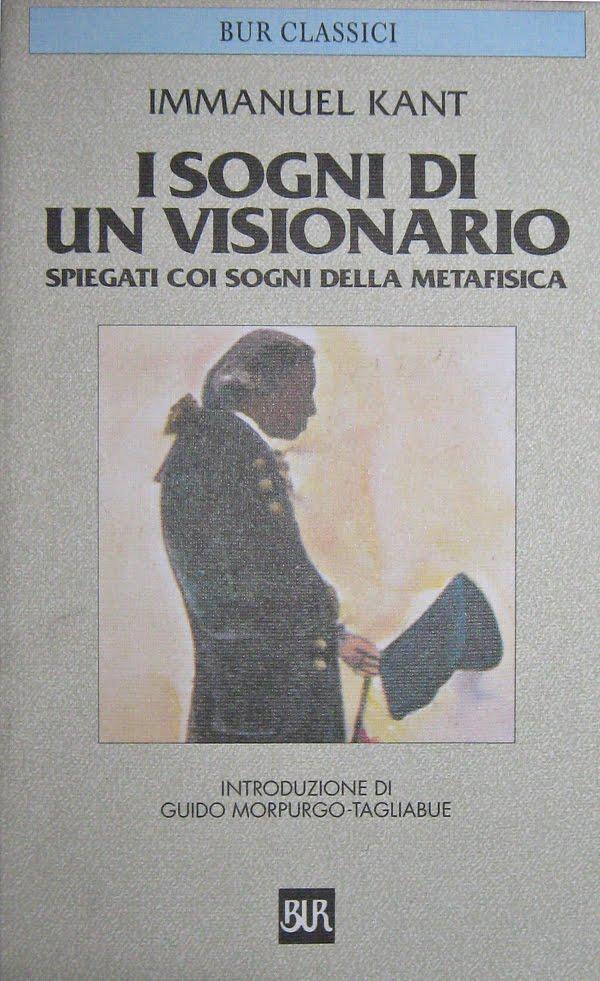I sogni di un visionario kant