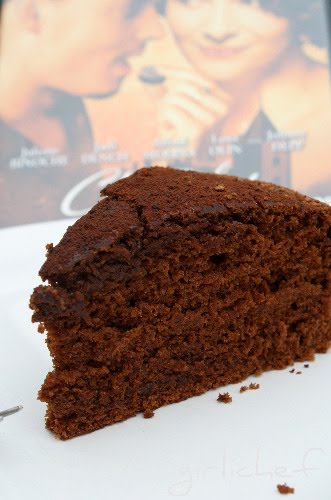 Chocolate Cake w/ Chile & Espresso inspired by Chocolat