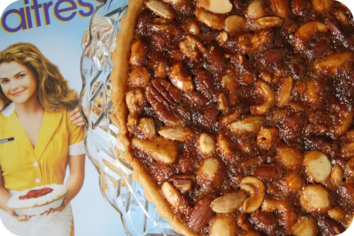 The Holidays are Making me NUTS Pie <i>...inspired by <b>Waitress</b> for Food 'n Flix</i>