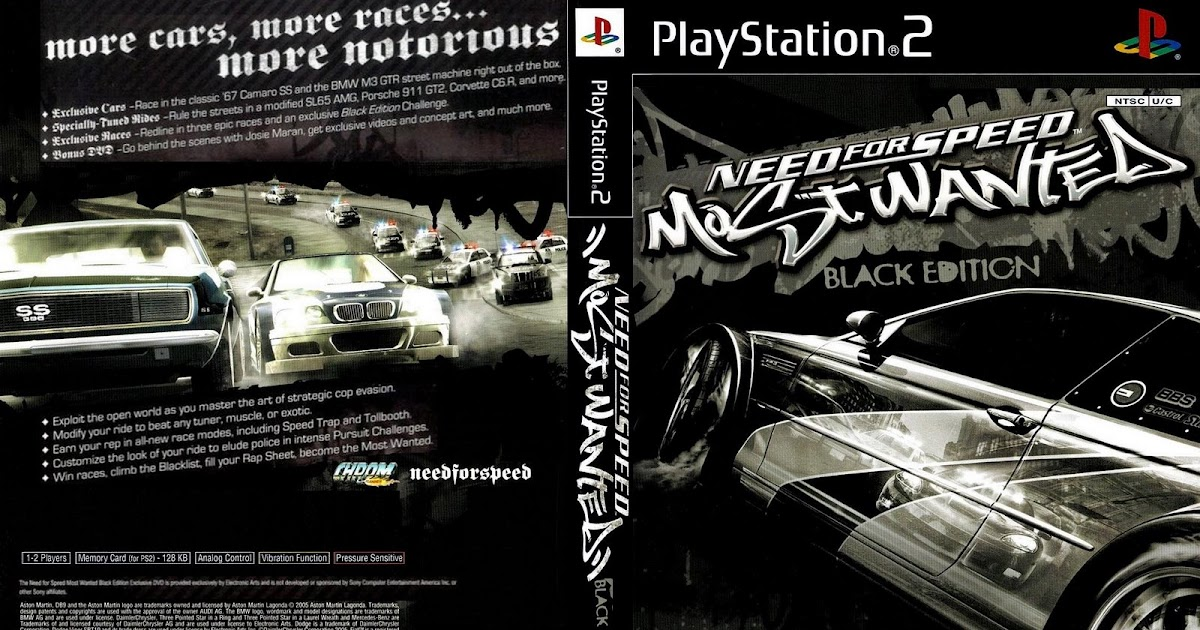 Cheat game most wanted black edition ps2