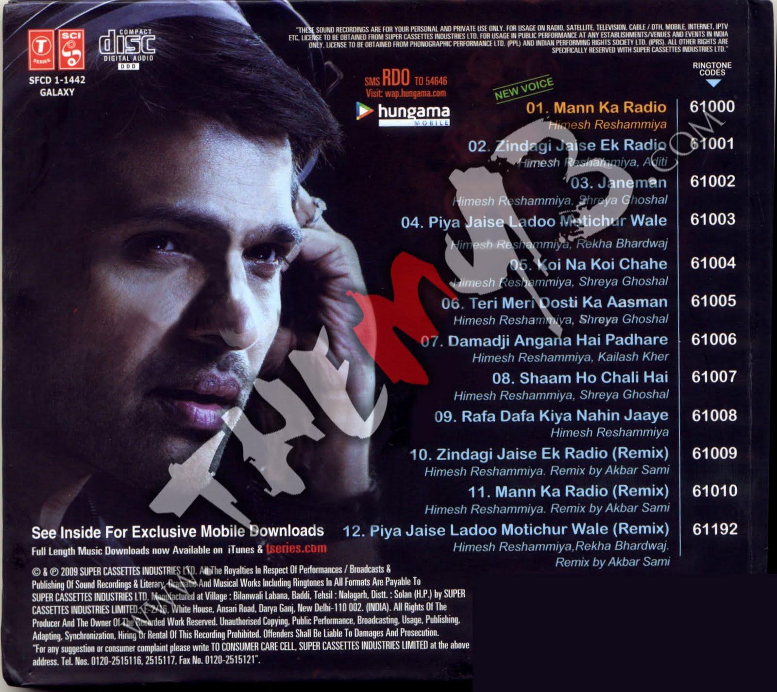 Http Koi Puche Song Mp3 Dwnld: Radio (2009) Hindi Mp3 Audio Songs