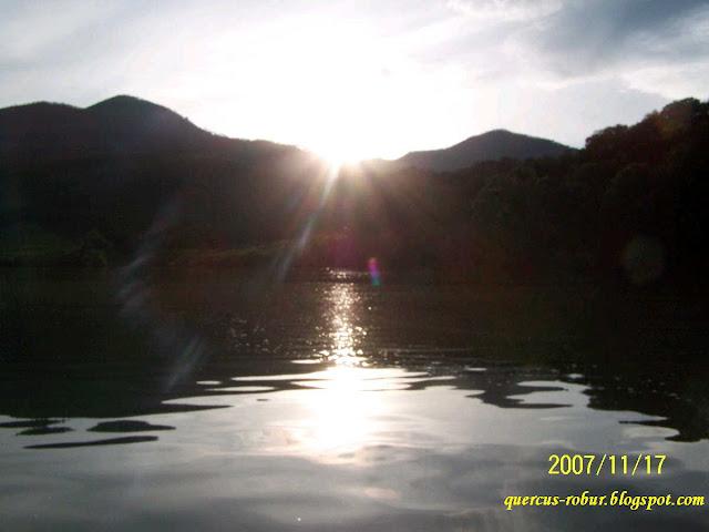 Vista de la presa Corrinchis