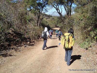 La brecha que nos lleva de Cerro Viejo a San Miguel Cuyutlán