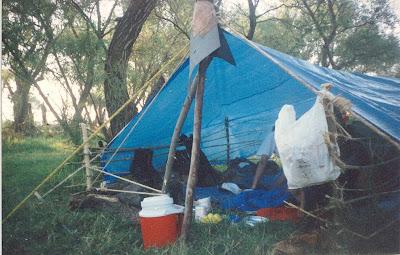Refugio con Toldo en Teuchitlán