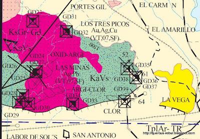 Geología del Cerro Grande de Ameca