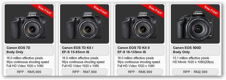 X Canon92 Harga Terkini Kamera Canon Malaysia