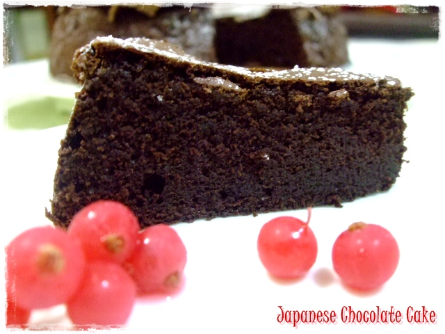 Tested & Tasted: Japanese Chocolate Cake