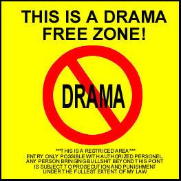 Stop The Drama Quotes QuotesGram
