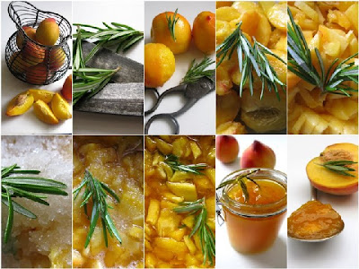 peach+jam FRUITS IN THE HIMALAYAS...& PEACH-ROSEMARY JAM RECIPE
